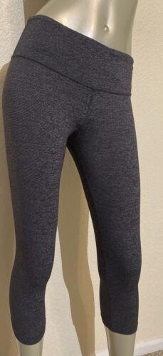 Lululemon Leggings Wonder Under Crop Yoga Pants Wo