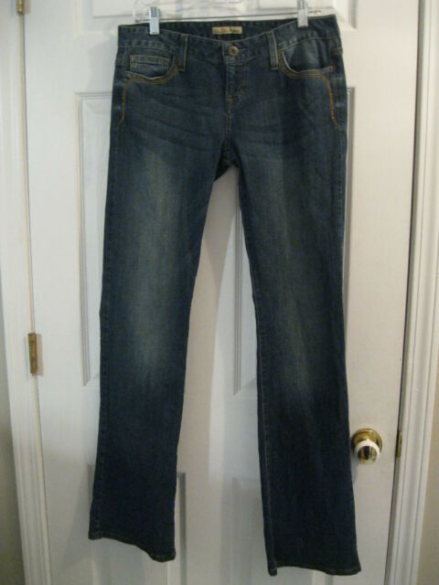 GUESS Los Angeles Denim Blue Jeans Womens Size 29 Modele Style Bootcut Stretch