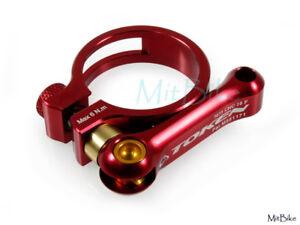 34.9 MM Ti Titanium Bolt RED TOKEN 8g Road MTB SeatPost Clamp 31.8 MM