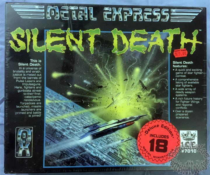 Silent död - Metal Express (Deluxe Edition) - NY   SEALD   OÖPPEND