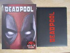 Deadpool Blu-ray Steelbook [Manta Lab] Full Slip Sealed New *READ* Fox Marvel