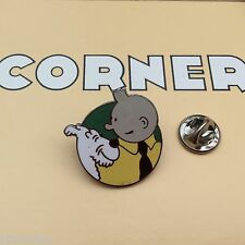 Pin's Folies *** Corner signé N° 205 Tintin Snowy Kuifje Tim und Struppi