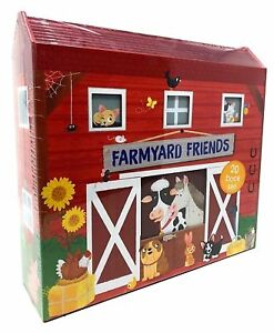 Farmyard-Friends-20-Book-Collection-Old-MacDonald-Had-a-Farm-Dilly-Duckling
