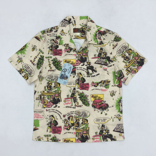Hawaiian shirts retro Men's Vintage