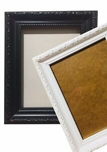 A1-A2-A3-A4-Ornate-French-style-Maxi-Photo-Picture-Photo-frame-White-Black
