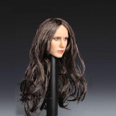 1//6 Female Woman Head Black Widow Sculpt 2in PVC Model Toy F//PH Action Figure