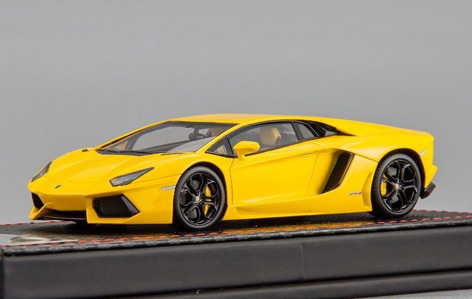 Lamborghini Aventador LP700-4  Gelb 1 43 FrontiArt F003-08 1 43