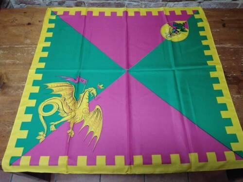 Taschentuch Contrada DRAGO 80 x 80 Neu PALIO DI SIENA Halstuch scarf new