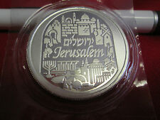 1 Ounce .999 Fine Silver Bullion 2014  City of Peace Jerusalem Holy Land Mint