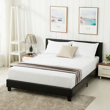 Boyd Sleep Montana Upholstered Platform Bed Frame With Headboard