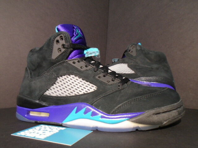 2018 Nike Air Noir Jordan V 5 Retro Noir Air EMERALD vert GRAPE ICE blanc 136027-007 8 951360