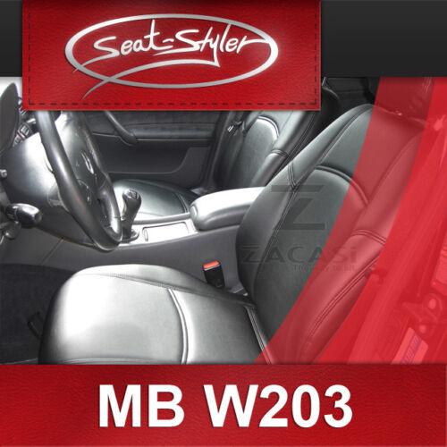 Materialprobe Sitzbezug Mercedes C-Klasse W203 Autositzbezüge Schonbezug