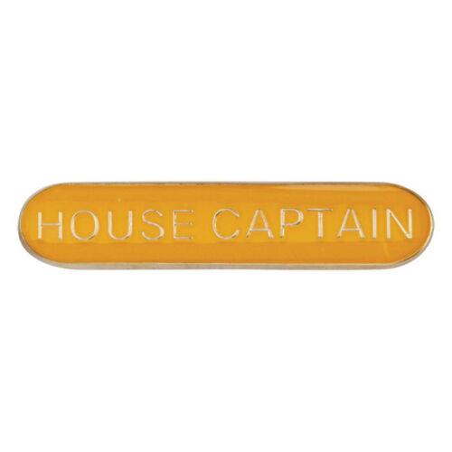 House Captain Enamelled Bar School Badge 4 colours