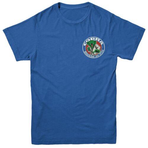 Cobra Brasileño Jiu Jitsu Camiseta Ejército británico Inspirado Bordado Camiseta Top