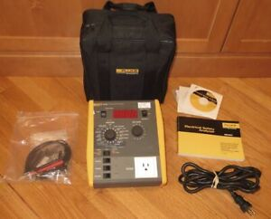 Fluke ESA601 Electrical Safety Analyzer - 90-264vac - Needs Calibration