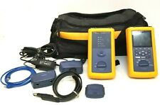 Fluke Networks Dsp 4300 Cable Analyzer And Dsp4300sr Smart Remote In Case