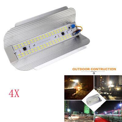 4X 50W LED Hallenleuchte Fluter Flutlicht Scheinwerfer Jod-Wolfram Außen