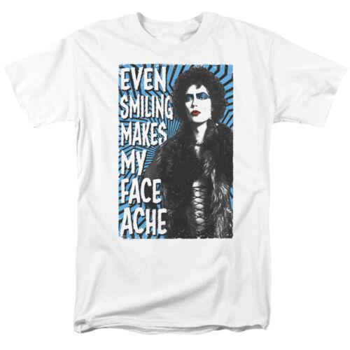 Rocky Horror Picture Show même souriant rend mon visage Ache T-Shirt Toutes Les Tailles