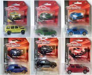 MERCEDES-RENAULT-PEUGEOT-majorette-Dodge-Premium-Cars-Diecast-Metal-1-71-1-54