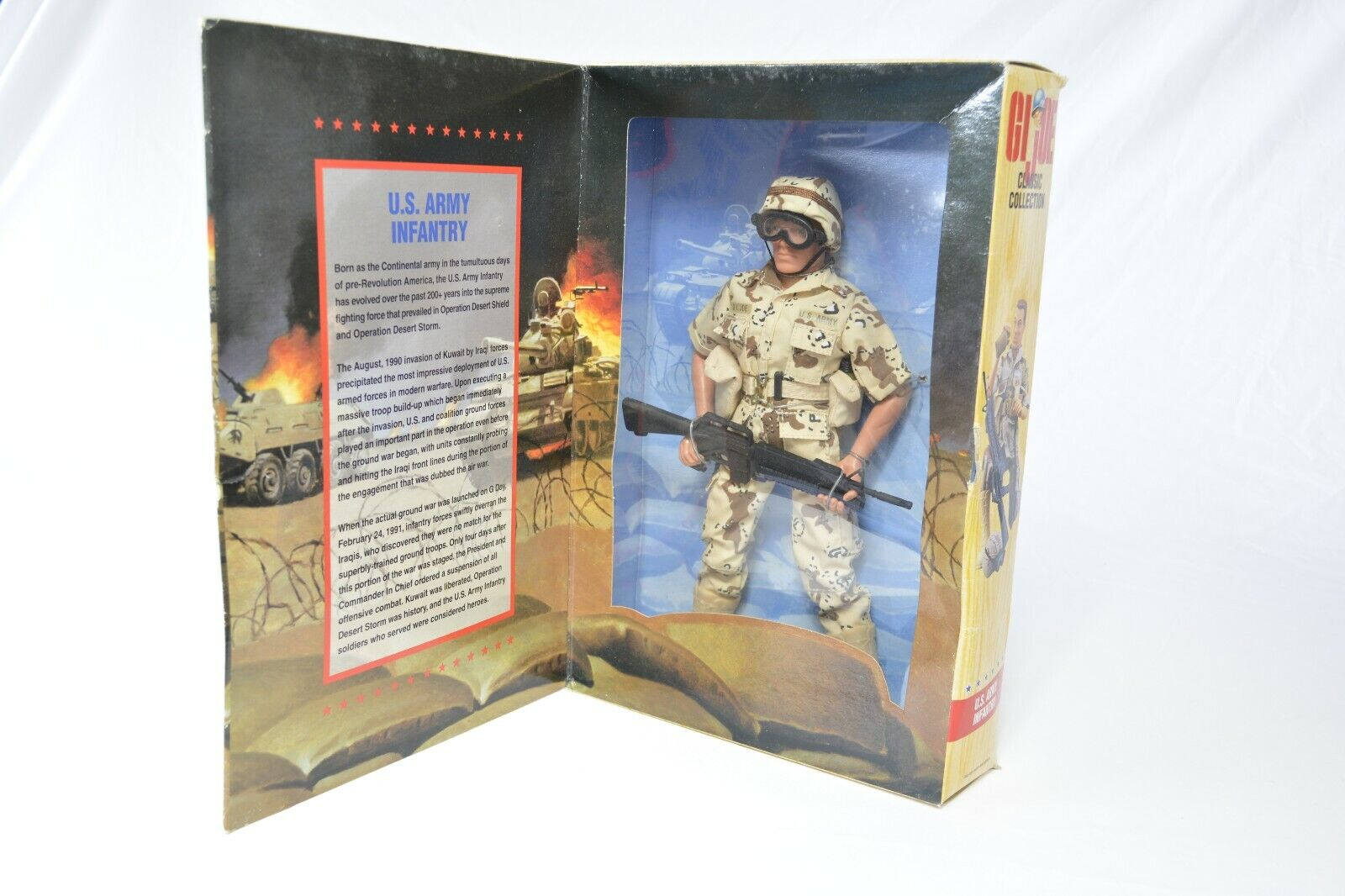 GI Joe Classic Collection U.S. Army Infantry Limited 12  Action Figure 1996