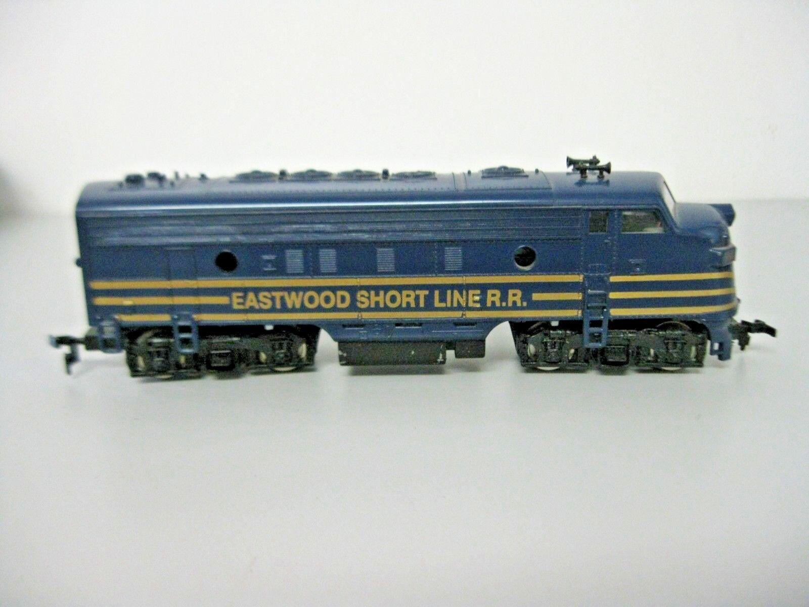Mantua HO Locomotive Eastwood Short Line RR HO Railroad Train