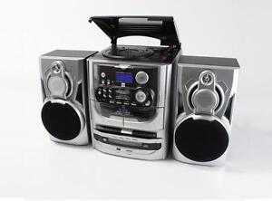 dual mp 301 stereoanlage cd wechsler plattenspieler ukw mw radio kassette ebay. Black Bedroom Furniture Sets. Home Design Ideas