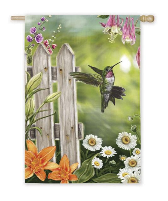 "Hummingbird House Size (29"" x 43"" Approx) Flag EG 13657"