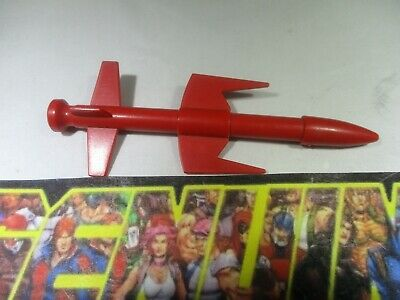 GI Joe Vehicle Silver Mirage Big Missile Bomb 1985 Original Part
