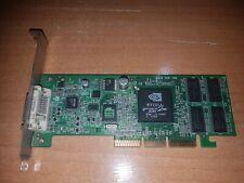 HP MS-8830 Vanta 16MB AGP 4x VGA LP Card 253126-001 Short Bracket Video Card