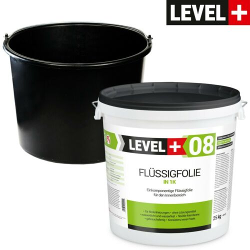 25kg Flüssigfolie kostenlos Baueimer PVC 20L Badabdichtung SET404