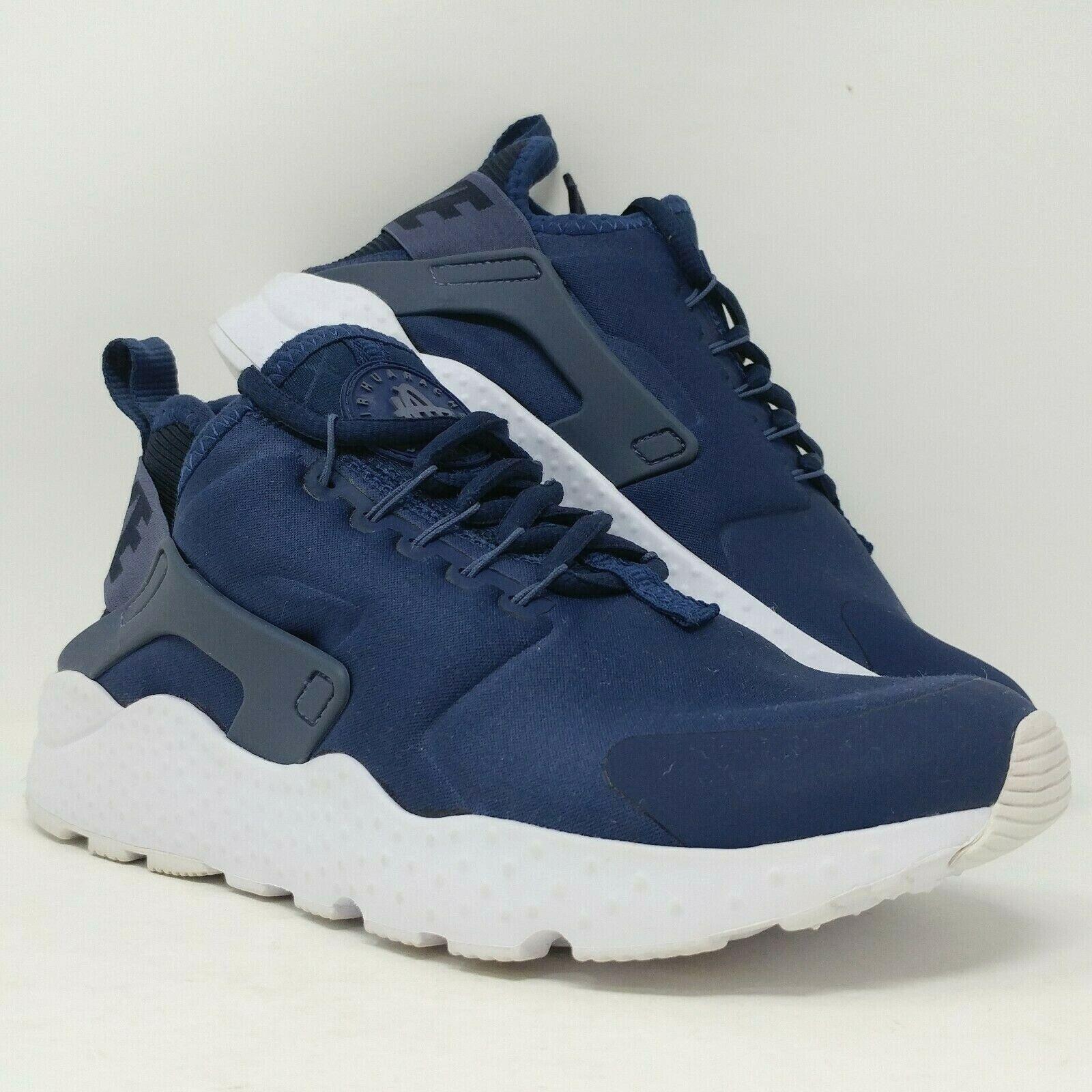 persona fibra pagar  Nike Air Huarache Run Ultra GS Running Shoes Size 6y Navy Blue Pink 847568  401 for sale online | eBay