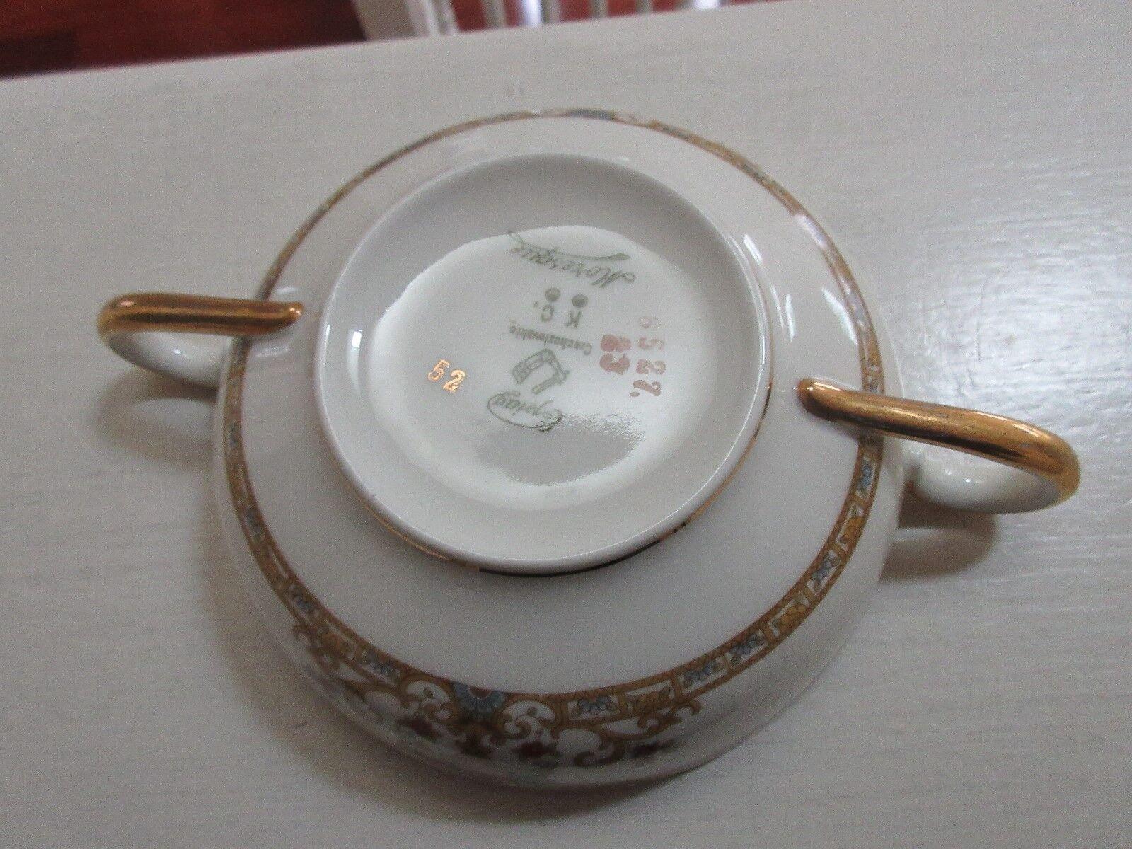 Epiag , Moresque, Coslevakiezech , Cream / Soup Bowl ,