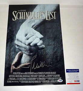 John-Williams-Schindlers-List-Signed-Autograph-Movie-Poster-PSA-DNA-COA