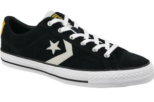 88a0a695014 Converse Star Player Suede Ox 161561C Black for sale online