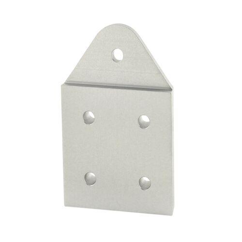80//20 Inc Aluminum 5 Hole Recessed Triangular Pivot Plate 40 Series #40-4394 N