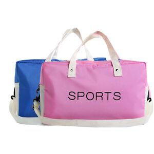 NEW Women Men Sports Waterproof Travel Bag Gym Wet Dry Separation Swim Handbag