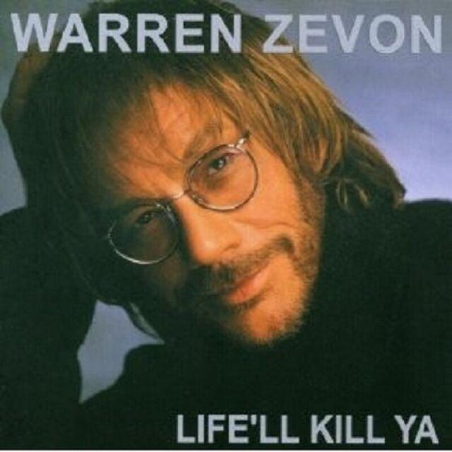 WARREN ZEVON - LIFE'LL KILL YA CD ROCK 12 TRACKS NEU