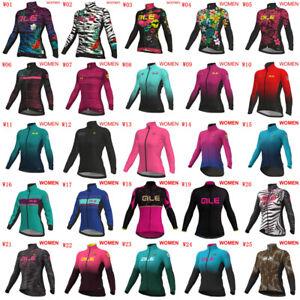 Womens Bike Shirt Cycling Long Sleeve Jersey 2020 Sports Uniform Bicycle Tops