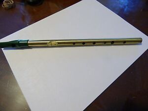 Original Irish Whistle Feadog Key D Made in Ireland and Instruction Book