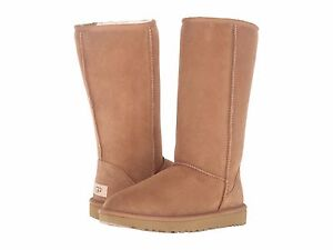 Women-039-s-shoes-UGG-CLASSIC-TALL-CHESTNUT-Stivali-II-1016224-5-6-7-8-9-10-11-NUOVO