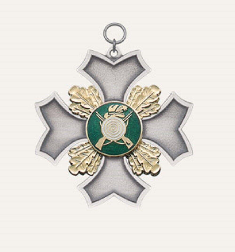 Kompletter Schützenorden von Deumer, Orden  auch mit Gravur  62348