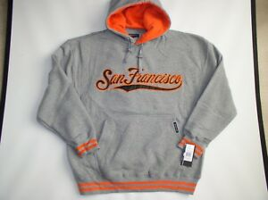 new concept 84a47 9d50f Details about **NWT**San Francisco SF Giants Pull Over Hoodie 3XL Size  Only-by Renegade Sports