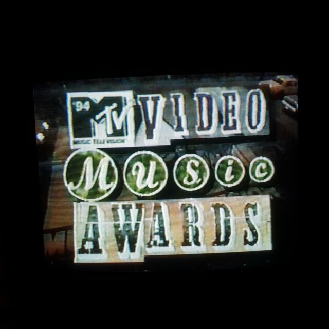 VHS Sold as Blank ~ 1994 MTV Video Music Awards VMA's with COMMERCIALS