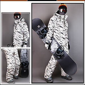 23717fb963de0 Image is loading Southplay-Mens-Winter-Premium-White-Camo-Military-Ski-