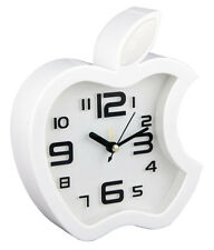 Table Clock Wall Clock with Alarm Apple Shape