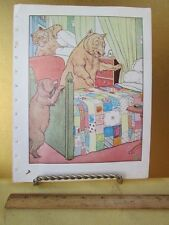 Vintage Print,WHO'S BEEN SLEEPING IN MY BED,Golden Goose,L.Leslie Brooke