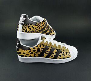 Adidas Glitter Avec Superstar Chaussures Paillettes Tissu qxnTqZA1wr