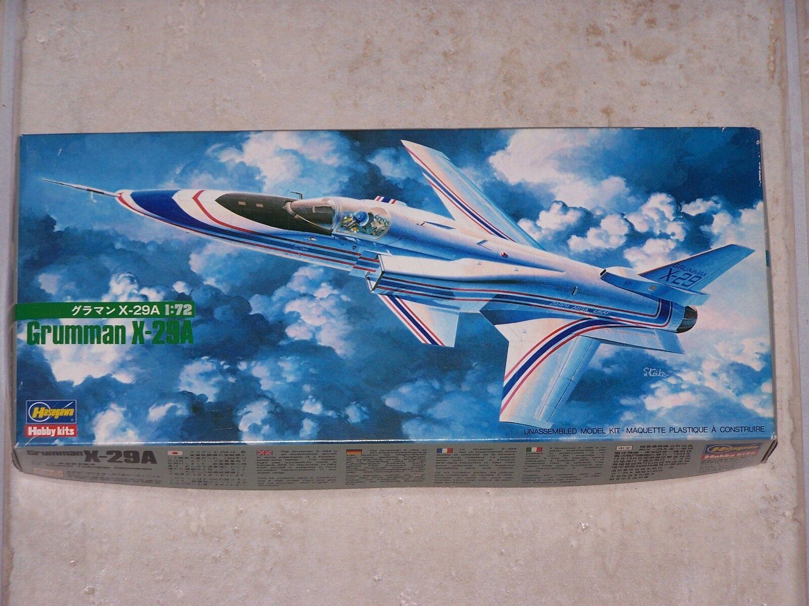 Maquette HASEGAWA 1 72ème GRUMMAN X-29A
