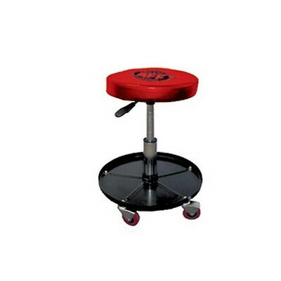 Apprensivo American Forge & Foundry 3907 Air Piston Rolling Creeper Stool Seat Il Massimo Della Convenienza