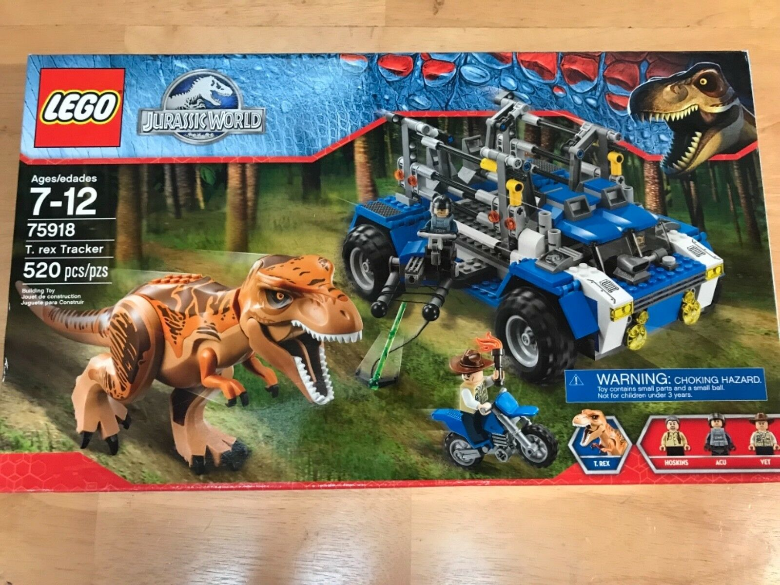 LEGO 75918 Rex Tracker Jurassic World T Building Kit NEW !!
